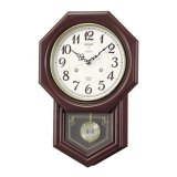 伝統的スタイル「八角尾長」クラシカルな振り子掛時計