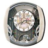 ミッキー&ミニーファンタジーの世界が広がる電波からくり時計