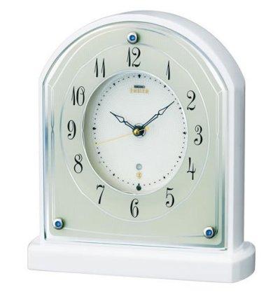 画像1: シンプルモダンな電波置き時計