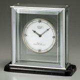 高級感溢れる天然大理石のモダンデザイン置時計