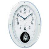 クラシックなデザイン掛け時計(ホワイト)