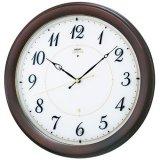 伝統的なフォルムにスタンダードデザイン掛け時計/電波クロック