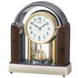 高級感が溢れるデザインと回転飾りやメロディのインテリア置時計