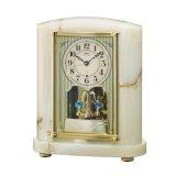 エレガントなオニキス置き時計
