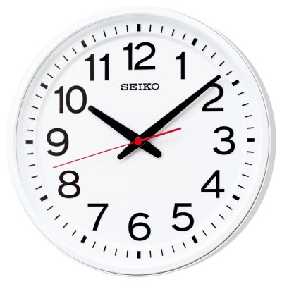 画像1: どこから見ても見やすい 「教室の時計」