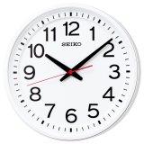 どこから見ても見やすい 「教室の時計」電波クロック