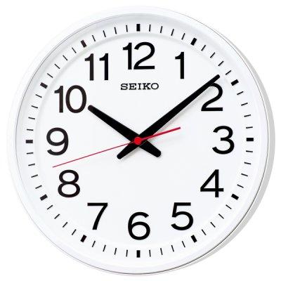 画像1: どこから見ても見やすい 「教室の時計」電波クロック