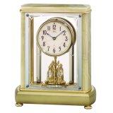 希少な天然石(オニキス)デザイン置時計