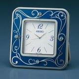 洗煉されたデザイン置き時計(ブルー)