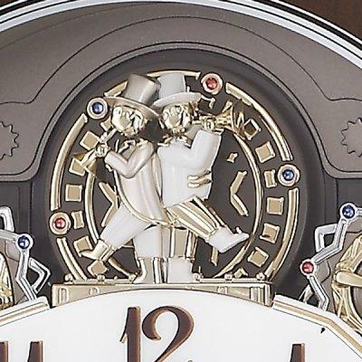 画像3: モダンリビングにマッチするシックなデザイン電波時計