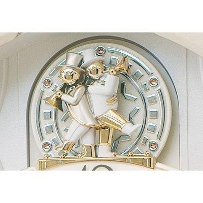 画像3: 多彩なメロディとインテリアにに調和するからくり時計