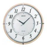 スタイリッシュな超薄型電波掛け時計